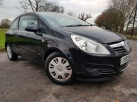 USED 2007 07 VAUXHALL CORSA 1.2 CLUB 16V 3d LONG MOT & SERVICED