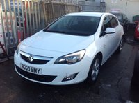 USED 2010 60 VAUXHALL ASTRA 1.6 SRI 5d 113 BHP 42000 miles, alloys, Sri, probably the best available, superb,