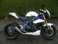 2013 TRIUMPH SPEED TRIPLE 1050 ABS  £6295.00