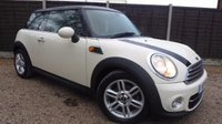 USED 2011 11 MINI HATCH 1.6 COOPER D 3dr Sat Nav, Leather, Cruise