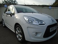 2012 CITROEN C3 1.4 WHITE 5d 72 BHP £4999.00