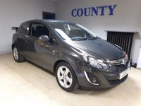 USED 2014 14 VAUXHALL CORSA 1.2 SXI 3d 83 BHP * TWO OWNERS * FULL HISTORY *