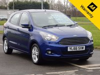 USED 2017 66 FORD KA+ 1.2 ZETEC 5d 69 BHP