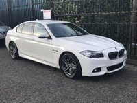 USED 2015 15 BMW 5 SERIES 3.0 530D M SPORT 4DR AUTO LEATHER+ MEDIA PACK
