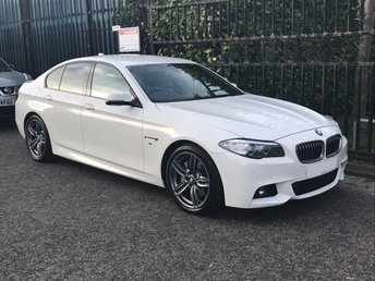 2015 BMW 5 SERIES 3.0 530D M SPORT 4DR AUTO LEATHER+ MEDIA PACK  £29950.00