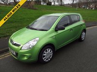 USED 2012 61 HYUNDAI I20 1.2 CLASSIC 5d 77 BHP 44,000 GUARANTEED MILES - 1 LADY OWNER FROM NEW - £30 ROAD TAX PER YEAR - SERVICE HISTORY