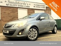 2011 VAUXHALL CORSA 1.2 EXCITE AC 3d ONLY 2 FORMER KEEPERS, BLUETOOTH, ALLOYS,   £3890.00