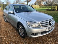 2011 MERCEDES-BENZ C CLASS 1.8 C180 CGI BLUEEFFICIENCY SE 4d AUTO 156 BHP £9500.00