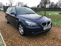 2010 BMW 5 SERIES 2.0 520D SE TOURING 5d 175 BHP £7000.00