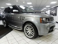 USED 2012 12 LAND ROVER RANGE ROVER SPORT 3.0 SDV6 AUTOBIOGRAPHY SPORT AUTO 255 BHP FSH 22'S RED & BLK LTHR STEPS