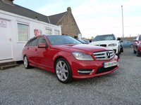 2012 MERCEDES-BENZ C CLASS C220 BlueEFFICIENCY Sport 2.1 CDI Auto ( 170 bhp ) £12995.00
