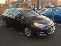 USED 2015 64 VAUXHALL ASTRA 2.0 ELITE CDTI 5d AUTO 163 BHP TOP SPECIFICATION!!..WITH PARKING SENSORS, SUBSTITUTE LEATHER, AND SATELLITE NAVIGATION!!...AIR CONDITIONING, EXCELLENT FUEL ECONOMY!!..LOW CO2 EMISSIONS..LOW ROAD TAX...FULL HISTORY...ONLY 2051 MILES FROM NEW!