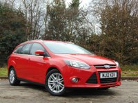 USED 2012 12 FORD FOCUS 1.6 TITANIUM TDCI 115 5d 114 BHP * 128 POINT AA INSPECTED *