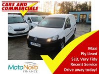 2015 VOLKSWAGEN CADDY MAXI C20 Startline 102ps £6500.00