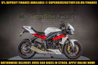 USED 2013 63 TRIUMPH STREET TRIPLE 675cc GOOD BAD CREDIT ACCEPTED, NATIONWIDE DELIVERY,APPLY NOW