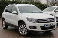 USED 2014 14 VOLKSWAGEN TIGUAN 2.0 MATCH TDI BLUEMOTION TECHNOLOGY 4MOTION 5d 139 BHP *SATELLITE NAVIGATION *AA DEALER PROMISE DRIVE AWAY TODAY*