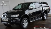 USED 2012 62 MITSUBISHI L200 2.5 DI-D 4x4 BARBARIAN DOUBLE-CAB 4 DOOR AUTO 175 BHP (NO VAT) Finance? No deposit required and decision in minutes.