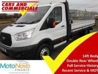 USED 2014 64 FORD TRANSIT DROPSIDE 350 LWB L4 (DRW) 125ps [1-Stop]