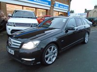 USED 2012 61 MERCEDES-BENZ C CLASS 2.1 C250 CDI BLUEEFFICIENCY SPORT 5d AUTO 202 BHP
