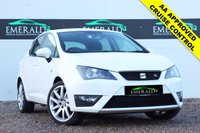 """USED 2012 62 SEAT IBIZA 1.2 TSI FR 5d 104 BHP **£0 DEPOSIT FINANCE AVAILABLE**SECURE WITH A £99 FULLY REFUNDABLE DEPOSIT** INTEGRATED FOG LIGHTS, CRUISE CONTROL, AIR CON, CLIMATE CONTROL, ISOFIX, ELECTRIC WINDOWS, ELECTRIC WING MIRRORS, 17"""" ALLOYS"""