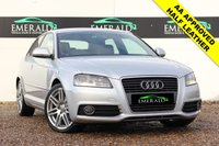 "USED 2010 59 AUDI A3 2.0 TDI S LINE 3d 138 BHP **£0 DEPOSIT FINANCE AVAILABLE**SECURE WITH A £99 FULLY REFUNDABLE DEPOSIT**£30 TAX, 60+MPG, S LINE HALF LATHER UPHOLSTERY, AUDI CONCERT, AUX INPUT, DRL, ELECTRIC WINDOWS, 18"" ALLOY WHEELS,"