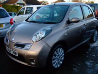 USED 2008 58 NISSAN MICRA 1.4 ACTIVE LUXURY 5d AUTO 88 BHP