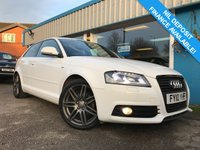 USED 2010 10 AUDI A3 2.0 TDI S LINE SPECIAL EDITION 3d 138 BHP 1/2 LEATHER, CLIMATE CONTROL, FSH!