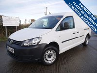 USED 2014 64 VOLKSWAGEN CADDY 1.6 C20 TDI STARTLINE 1d 101 BHP 1 OWNER, FULL HISTORY, 2 KEYS