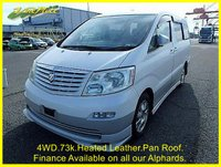 2005 TOYOTA ALPHARD 3.0 Auto 4WD MZ Edition 8 Seats  Panoramic Roof, Curtains, Power Slide Door  £9000.00
