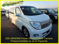 2007 NISSAN ELGRAND 2.5 Highway Star Automatic 8 Seats, XENONS, Rear Camera £9000.00