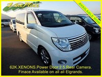 USED 2007 07 NISSAN ELGRAND 2.5 Highway Star Automatic 8 Seats, XENONS, Rear Camera +62K+2.5+XENONS+BLACK TRIM+