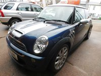 2006 MINI HATCH COOPER 1.6 COOPER S CHECKMATE 3d 168 BHP £3399.00