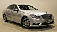 USED 2009 59 MERCEDES-BENZ E CLASS 2.1 E250 CDI BLUEEFFICIENCY SPORT 4d AUTO 204 BHP