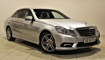 2009 MERCEDES-BENZ E CLASS 2.1 E250 CDI BLUEEFFICIENCY SPORT 4d AUTO 204 BHP £9785.00