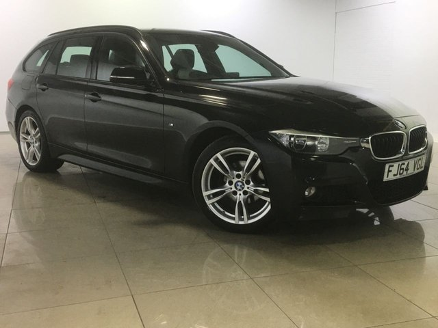 View our 2014 64 BMW 3 SERIES 2.0 318D M SPORT TOURING 5d 141 BHP