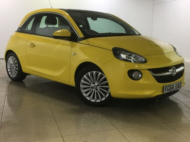 View our 2014 64 VAUXHALL ADAM 1.2 GLAM S/S 3d 69 BHP