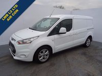 2015 FORD TRANSIT CONNECT 1.6 240 LIMITED P/V 1d 114 BHP £11495.00