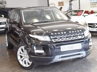 USED 2014 14 LAND ROVER RANGE ROVER EVOQUE 2.2 SD4 PURE TECH 5d AUTO 190 BHP SAT NAV+LTHR+MERIDIAN+R-CAM