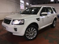 2014 LAND ROVER FREELANDER 2.2 SD4 SE TECH 5d AUTO 190 BHP £15290.00