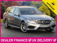 USED 2015 64 MERCEDES-BENZ E CLASS 2.1 E220 CDI AMG SPORT 7G-TRONIC 5dr AUTO 170 BHP SATELLITE NAVIGATION LEATHER ELECTRIC TAILGATE DAB