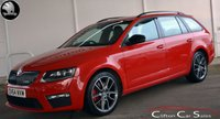 2014 SKODA OCTAVIA 2.0TDi VRS ESTATE 5 DOOR 6-SPEED 184 BHP £12990.00