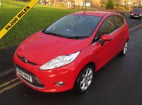 USED 2012 12 FORD FIESTA 1.4 ZETEC 16V 5d 96 BHP 36,000 GUARANTEED MILES - 2 OWNERS