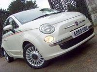 2009 FIAT 500 1.2 LOUNGE 3d 69 BHP £3999.00