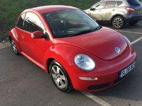 2008 VOLKSWAGEN BEETLE 1.6 LUNA 8V 3d 101 BHP £2795.00