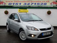 USED 2009 58 FORD FOCUS 1.8 TITANIUM TDCI 5d 115 BHP FULL HISTORY, ONE OWNER, DIESEL, FINANCE AVAILABLE