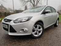 USED 2013 62 FORD FOCUS 1.6 ZETEC TDCI 5d 1 OWNER FROM NEW