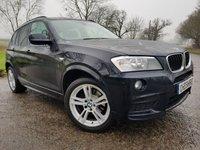 2014 BMW X3 2.0 SDRIVE18D M SPORT 5d AUTO SAT NAV £15475.00