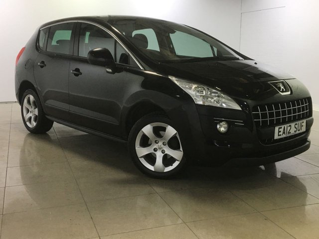View our 2012 12 PEUGEOT 3008 1.6 ACTIVE E-HDI FAP 5d 112 BHP