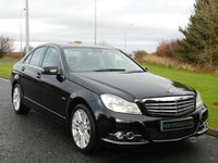 2011 MERCEDES-BENZ C CLASS 2.1 C250 CDI BLUEEFFICIENCY ELEGANCE ED125 4d AUTO 204 BHP £10990.00