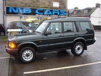 USED 2002 02 LAND ROVER DISCOVERY 2.5 TD5 E 5d 137 BHP 1 OWNER FROM NEW, ONLY 62000 MILES FROM NEW